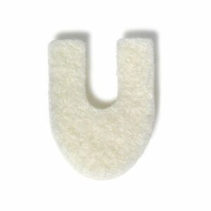 Horseshoe Felt pad - vilt - U-vorm - hoefijzer vilt- teen - eksteroog - drukpunt - ontlasting - Fresco - FeetinMotion